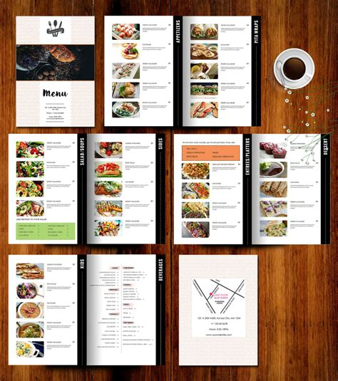 menu card template 10 restaurant menu card designs design trends premium