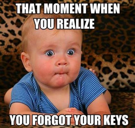 Lost Keys Meme - funny baby pictures 187 forgot your keys