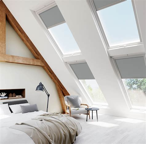 Dachfenster Rolladen Velux by Velux Grey Skylight Blinds For Velux