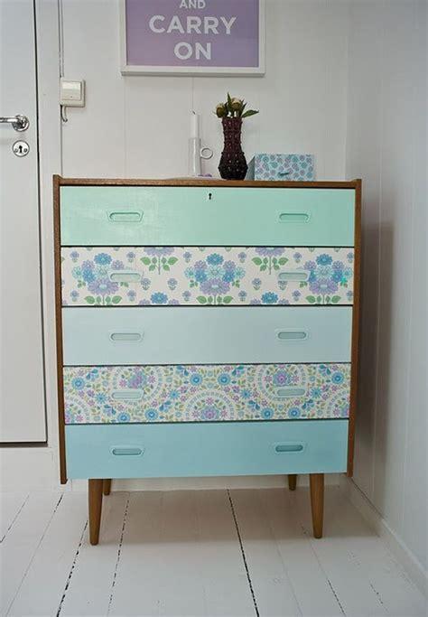 diy using dresser drawers diy wallpapered dresser drawers room ideas girls