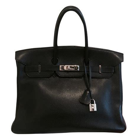 H Birkin Togo sacs 224 herm 232 s sac hermes birkin cuir togo noir 35 cm