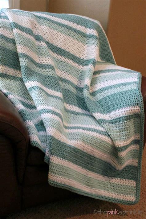 stripe pattern generator knitting easy afghan pattern archives the pink sprinkle yarn