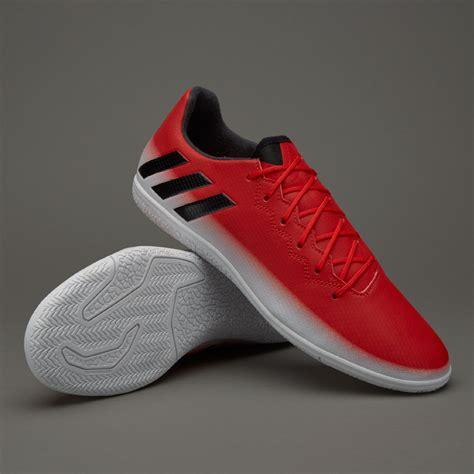 sepatu futsal adidas messi 16 3 in black white