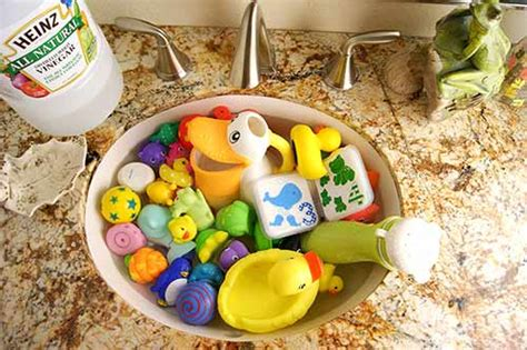 natural ways to clean bathtub cleaning bath toys the natural way