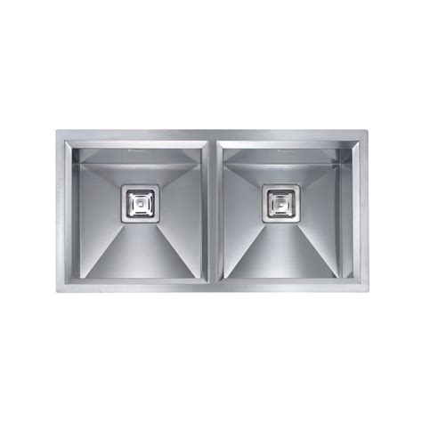 lavello acciaio satinato lavello cm ariel 100x50 1 5 vasche acciaio inox satinato cm