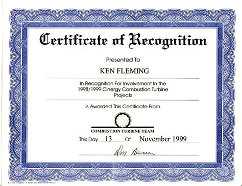 template of certificates recognition award wording exles tryprodermagenix org