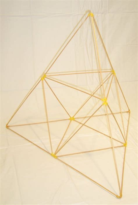 tetrahedron kite template build a d stix tetrahedral kite