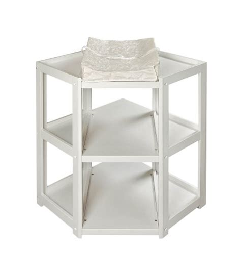 Inexpensive Changing Tables Gt Cheap Badger Basket Corner Changing Table White For Sale Home Kitchen In Us