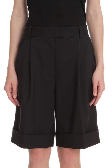 3 1 Phillip Lim Bermuda lyst 3 1 phillip lim pleated bermuda shorts in black