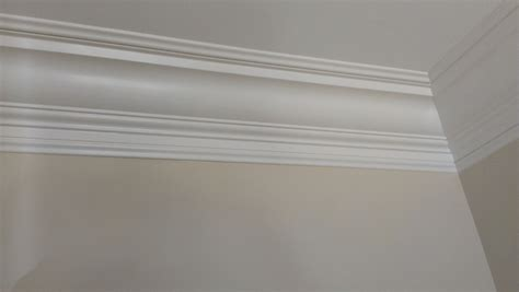 crown molding on concrete ceiling finish carpentry