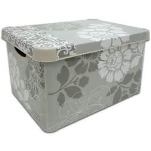 Decorative Storage Containers Libra Usa Deco Romance Storage Box Large Curver