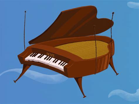 Acme Falling Piano by Adam Plouff   Dribbble