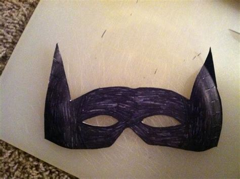 How To Make Masks Out Of Paper Plates - how to make a paper plate batman mask snapguide