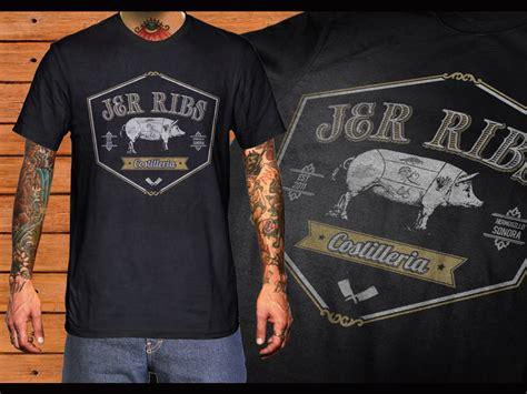 design a restaurant shirt t shirt design for joshua schroeder by cithuwill design