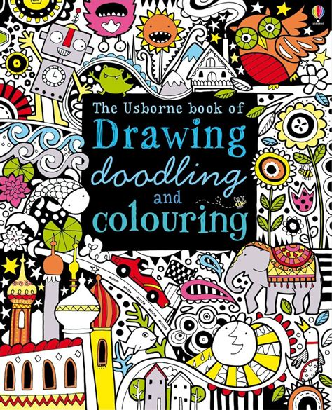 home design doodle book drawing doodling and colouring at usborne books at home