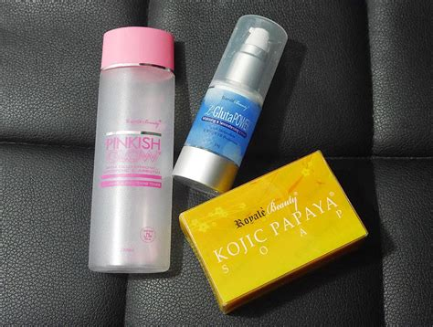 Toner Glowing Toner Whitening the project awesome product iew royale kojic papaya soap pinkish glow toner and