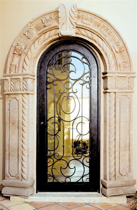 exterior wrought iron doors wrought iron doors florida and cantera doors