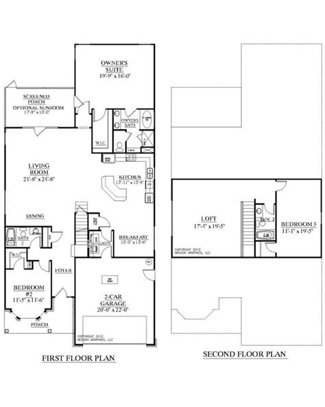 2 story house plans master bedroom downstairs pinterest the world s catalog of ideas