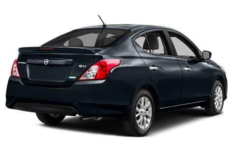 nissan versa sedan 2016 2016 nissan versa price photos reviews features