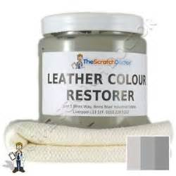Leather Sofa Restorer Kit Light Grey Leather Dye Colour Restorer For Mercedes Leather Car Interiors Etc