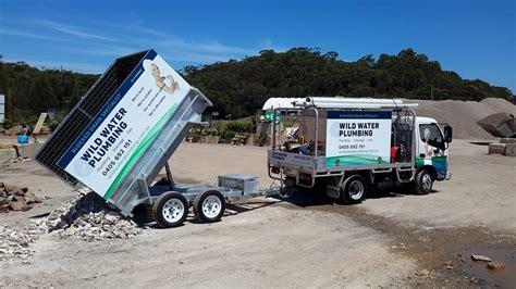 Plumbing Trailer by Northern Beaches Plumber With Plumbing Truck Plumbing