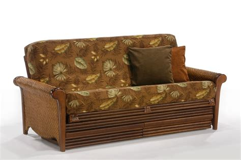 rattan futon rosebud rattan futon frame by day furniture