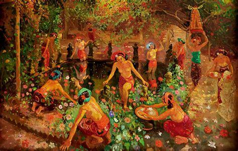 Lukisan Adrien Jean Le Mayeur De Merpres De Meisje Bali In Morgen kisah le mayeur sang pemilik museum cinta damn i