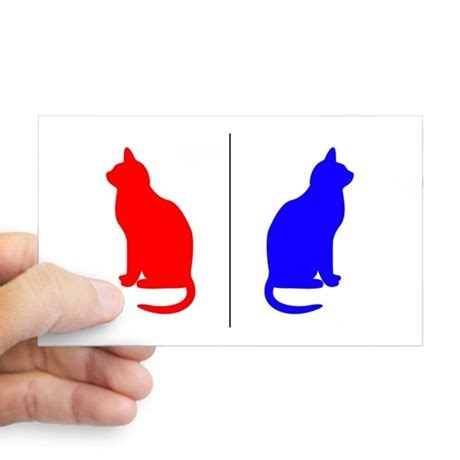 cat bathroom sign male female cat restroom litterbox sign decal by mozartini