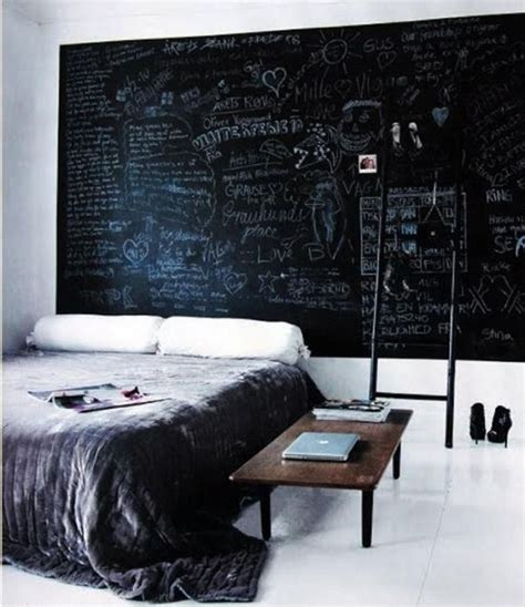bedroom chalkboard wall 50 chalkboard wall paint ideas for your bedroom