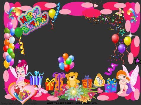 imagenes de invitaciones de cumpleaños bonitas tarjetas gratis y bonitas de cumplea 241 os tarjetas de