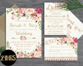 printable sles of wedding invitations floral wedding invitation template wedding invitation