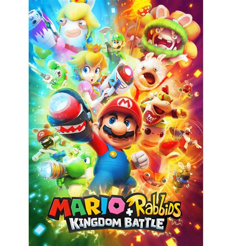 Kaset Nintendo Switch Mario Rabbids Kingdom Battle mario rabbids kingdom battle se deja ver en estos nuevos artes
