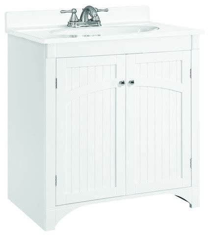 cottage style bathroom vanities cabinets design house 541565 white cottage 30 quot wood vanity cabinet