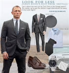 look for less bond s suit from skyfall primer