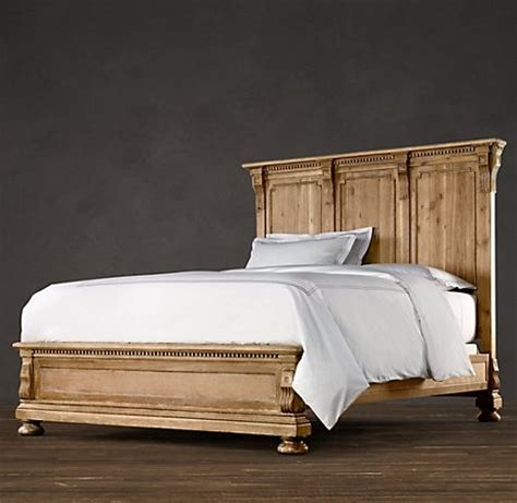 Restored Wood Headboard by Wood Beds Restoration Hardware For The Home