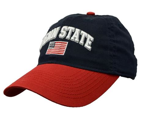 penn state l penn state usa flag relaxed hat headwear gt hats gt adjustable