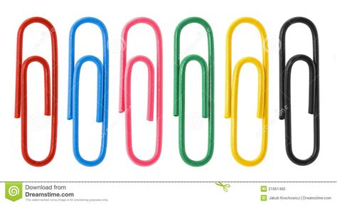 photo clips collection of colorful paper clips royalty free stock