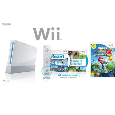 wii console sports resort bundle nintendo wii console white bundle including wii sports