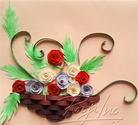 Paper And Craft - paper quilling pooja inc