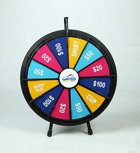 12 Slot Black Tabletop Prize Wheel Game 63041 Brilliant Promotional Products 12 Slot Prize Wheel Template