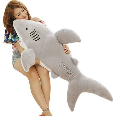 giant shark plush stuffed animal dolls giant shark plush toys 120cm baby