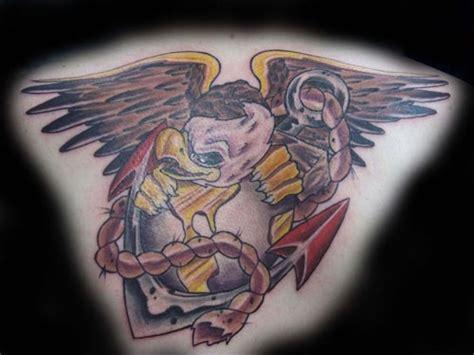 New School Ega Tattoo | cat tattoo tattoos new school marine tatty