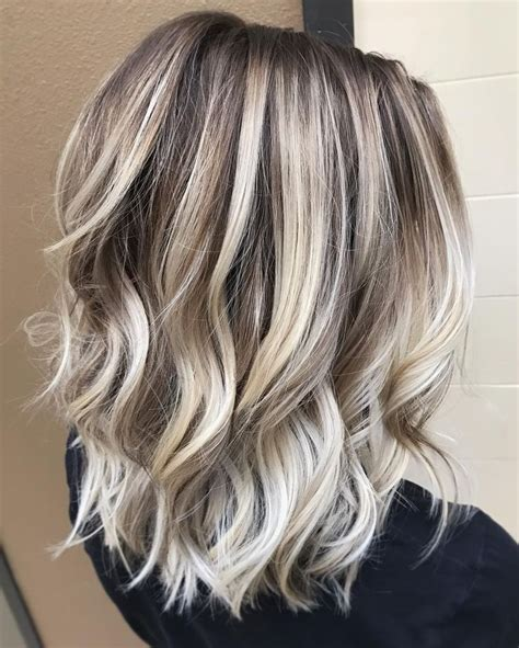 beautiful brunette hair with platinum highlights pictures hot trebd 2015 best 25 heavy blonde highlights ideas on pinterest