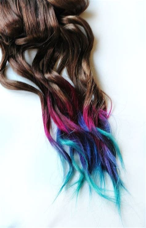 7 Tips For Dying Your Hair Brown by Best 25 Dip Dye Hair Ideas On Dip Dye Pink