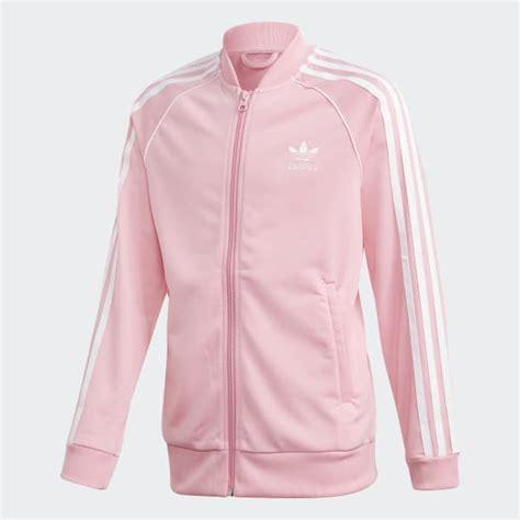 light pink adidas jacket adidas sst track jacket pink adidas us