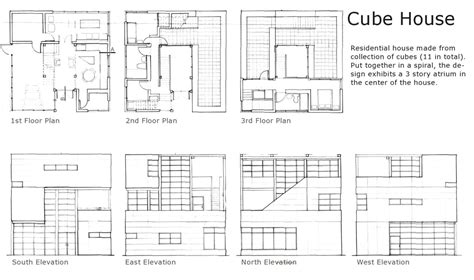 cube house design layout plan cube house rotterdam floor plan escortsea