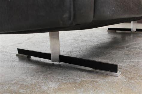 modern sofa chrome legs mid century modern black leather sofa with chrome legs at