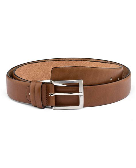 buy mens brown nappa leather belt leatherbeltsonline