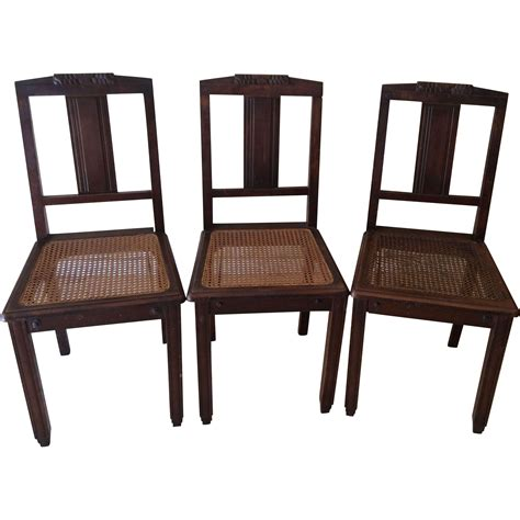 Carved Dining Chairs Dining Chairs With Carved Tops Set Of 3 From Luxuryfrenchcollection On Ruby