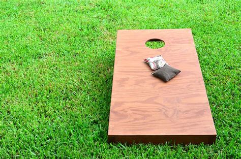 backyard bean bag toss game 25 diy yard games